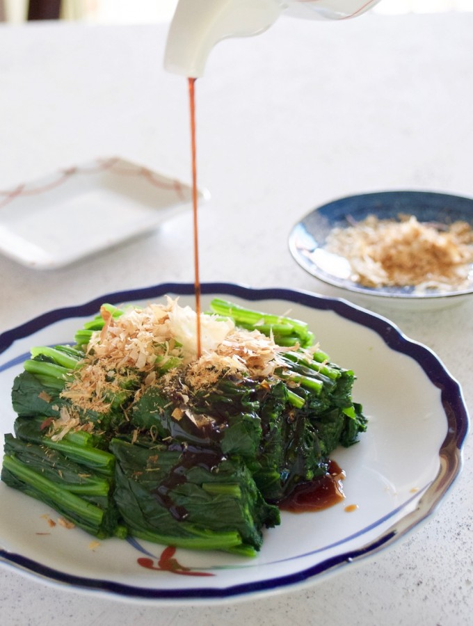 Spinach Ohitashi Salad