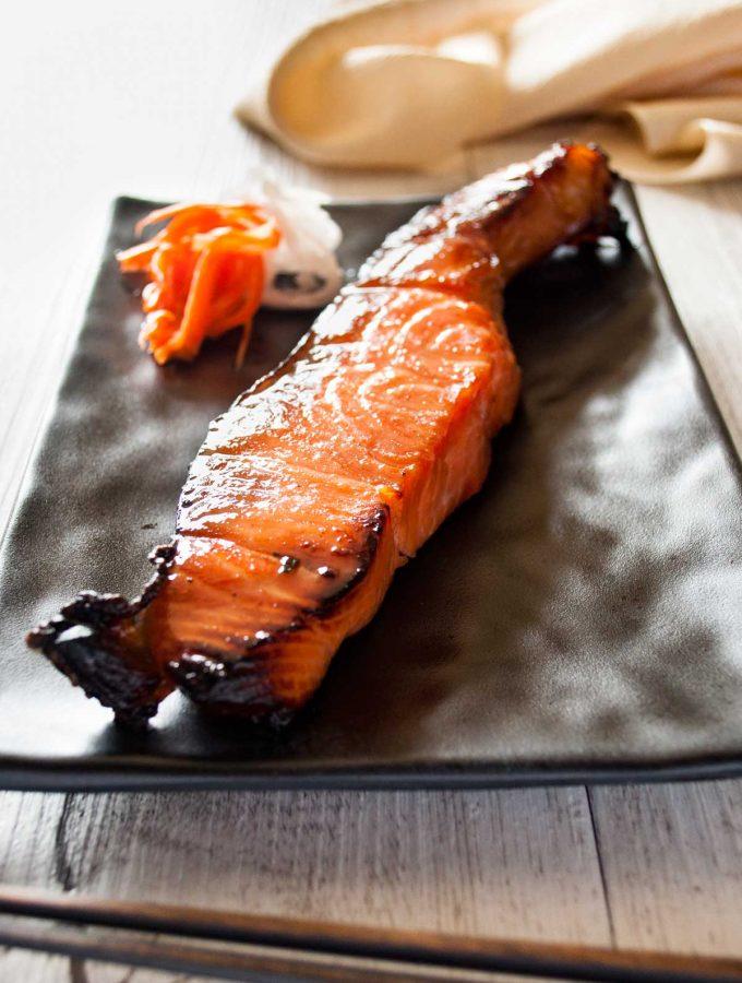Japanese Salmon Mirin-zuke (Mirin Marinade)