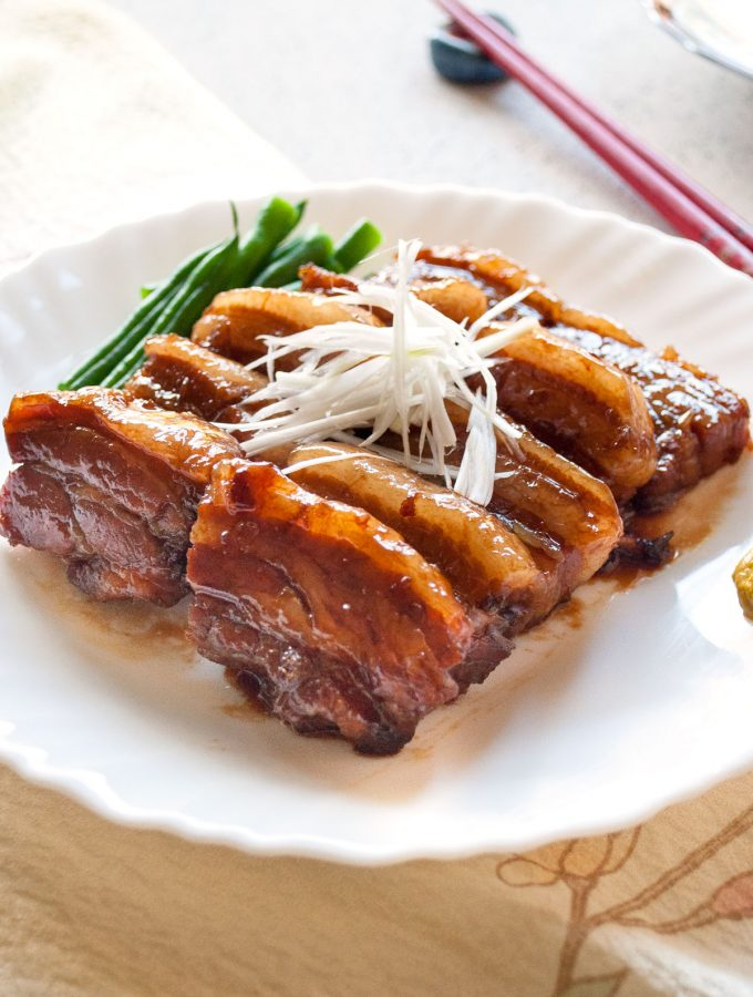 Kakuni (Japanese Simmered Pork Belly)