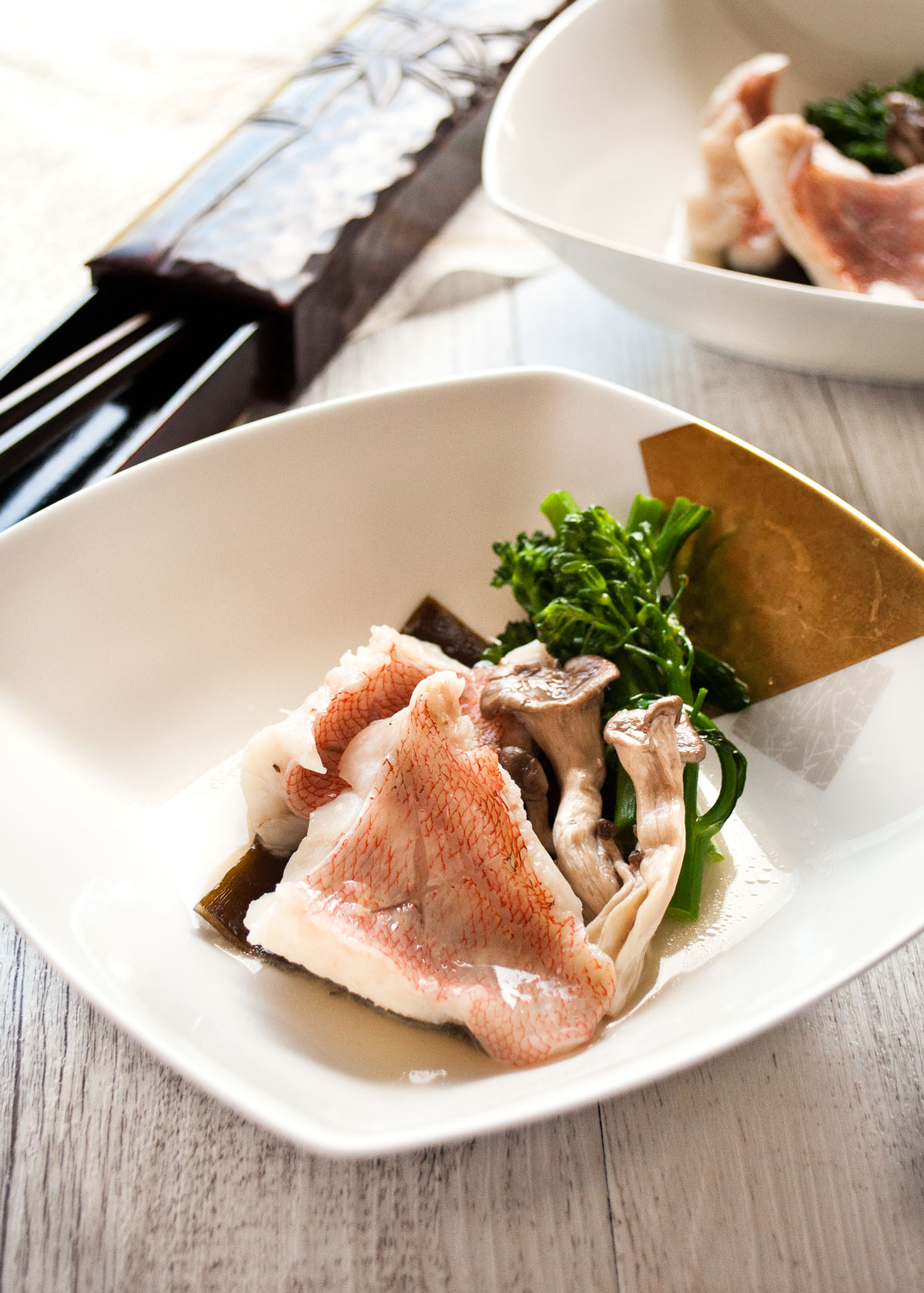 Sakamushi fish steamed fish in sake recipetin japan sakamushi steamed in sake fish is a very authentic japanese dish forumfinder Image collections