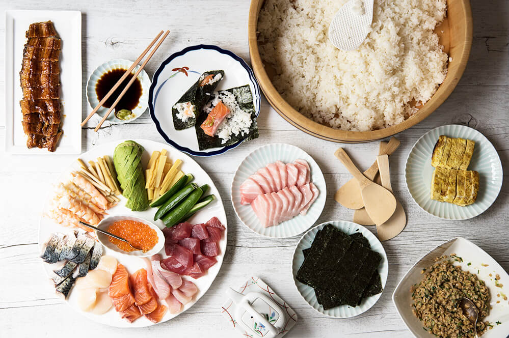 Temakizushi is so easy to make and choice of ingredients is really up to you.
