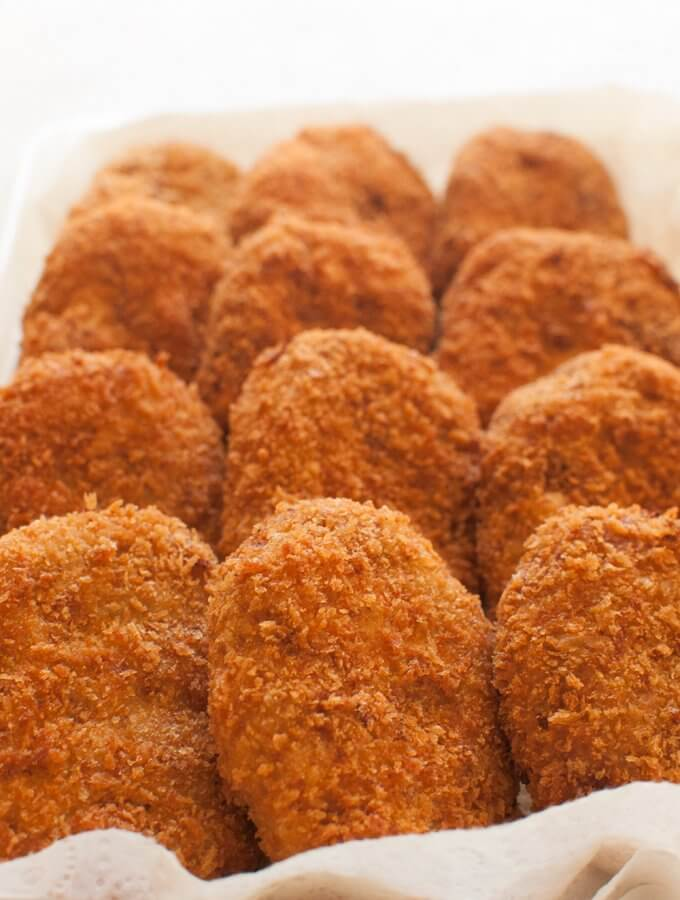 Korokke (Japanese Potato and Ground Meat Croquettes)