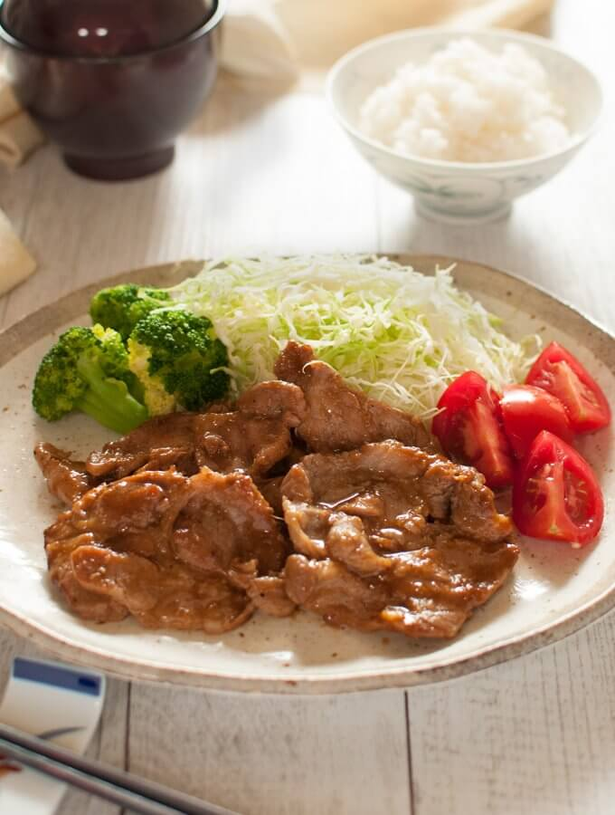 Pork Shogayaki (Ginger Pork)