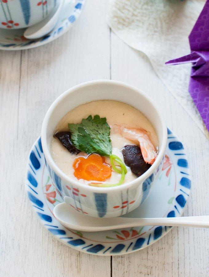 Chawanmushi (Savoury Egg Custard)