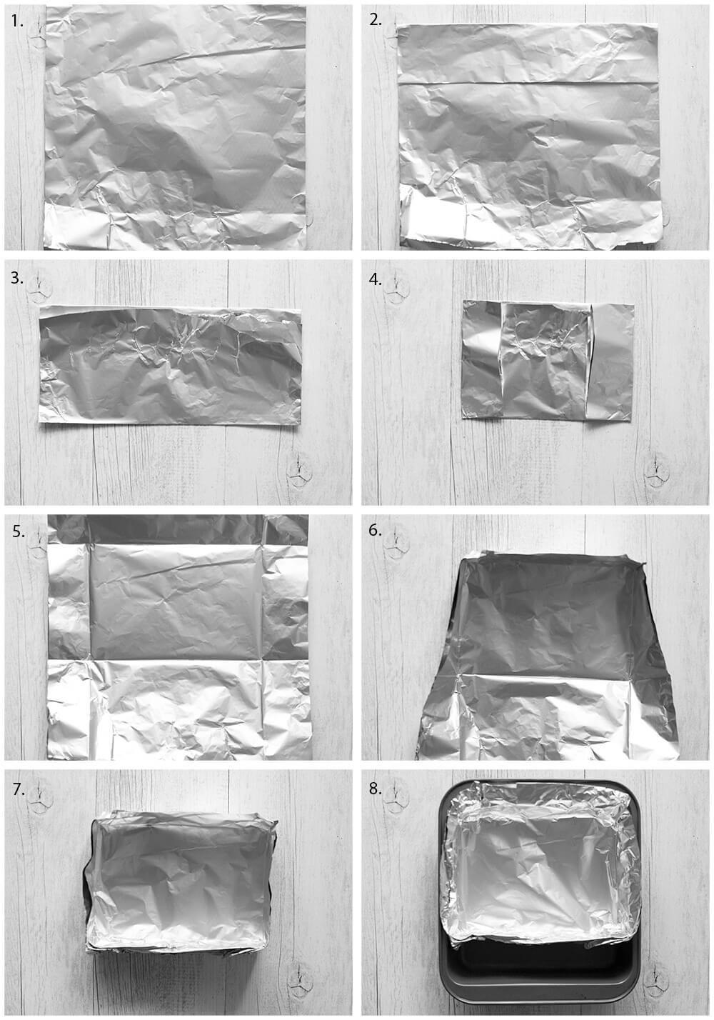 Aluminium box to bake noshidori.