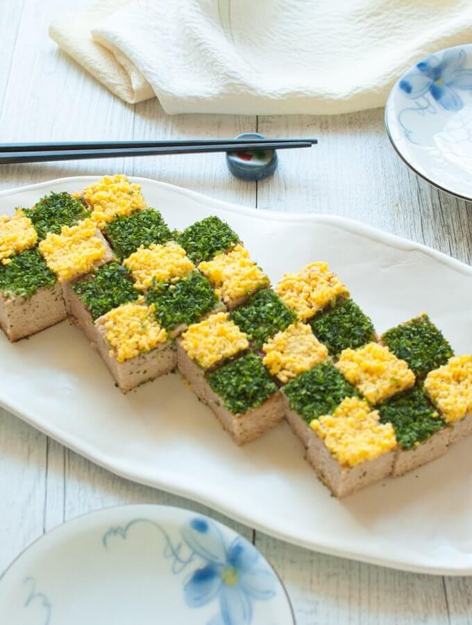 Japanese Chicken Meatloaf (Noshidori)