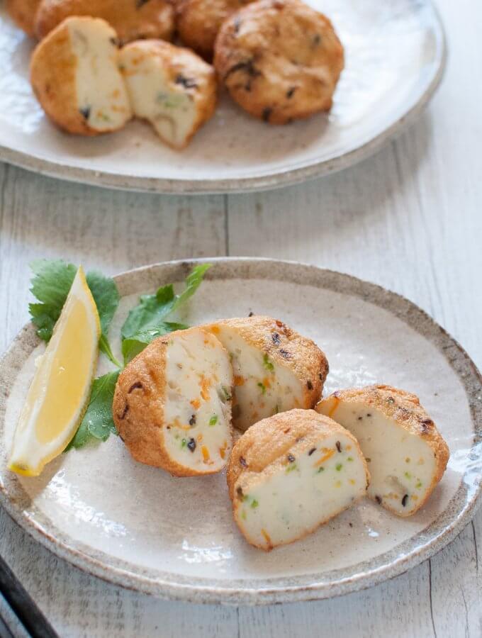 Japanese Fried Fish Cakes (Satsuma Age)