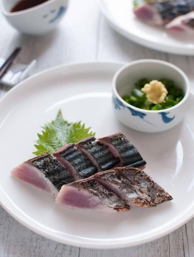 Bonito Tataki (Seared Bonito)