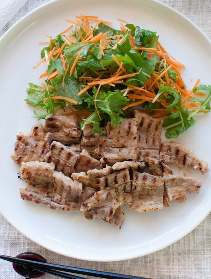 Pork Marinated in Sake Lees (Pork Kasuzuke)