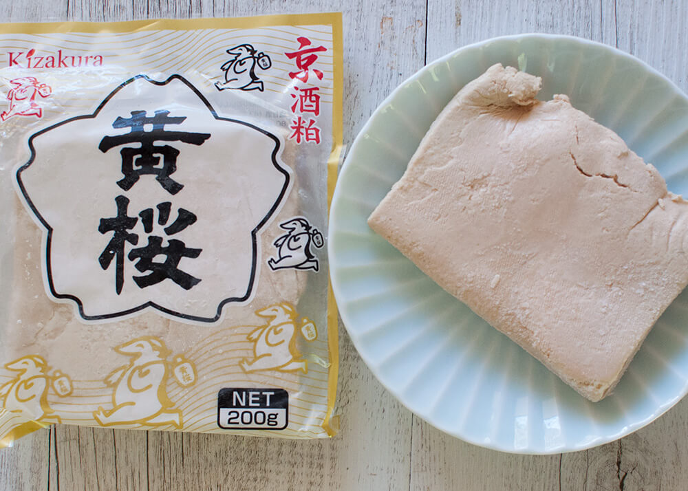 Sake kasu is soled frozen at Japanese Grocery stores.
