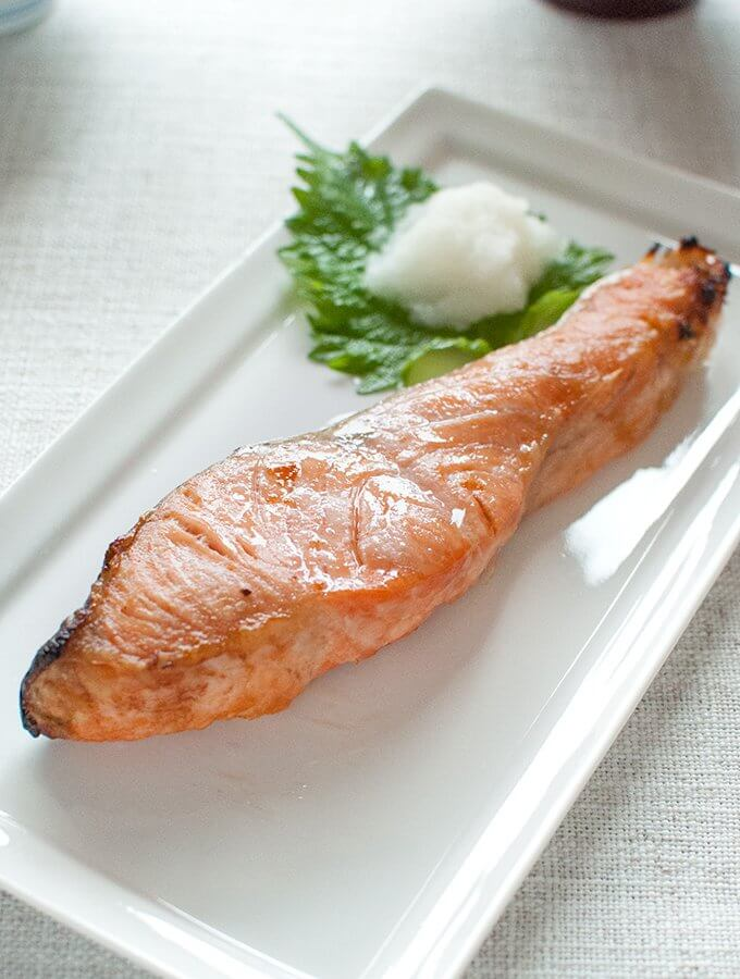 Japanese Salmon (Salted Salmon)