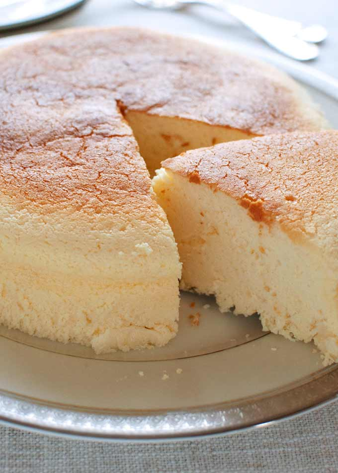 Japan Cotton Cake Recipe