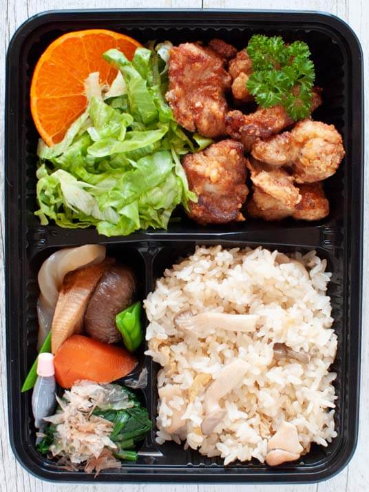 Bento Box – Chicken Karaage Bento