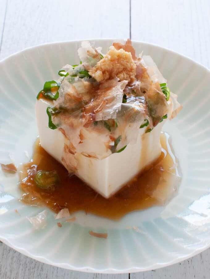 Chilled Tofu (Hiyayakko) 4 Ways