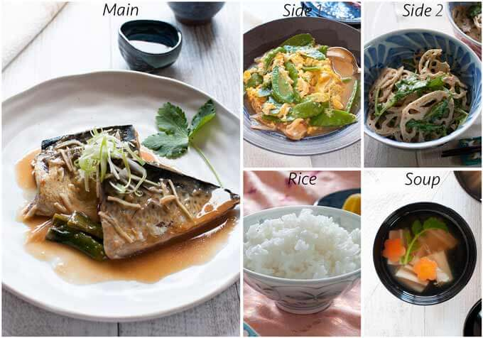 Dinner idea with Japanese Style Scrambled Eggs.