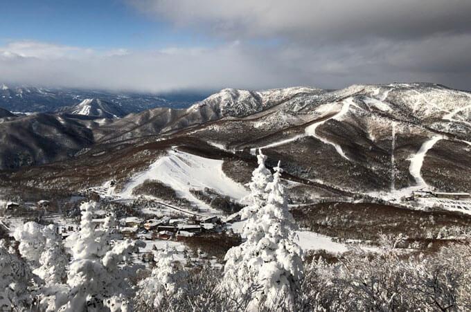 Shiga Kogen ski resort.