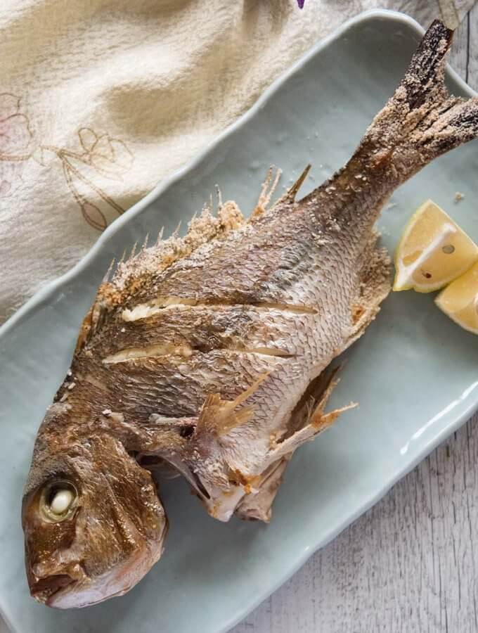 Japanese-style Grilled Snapper