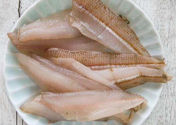 Semi Dried Whiting Fillets (Whiting Bunkaboshi)