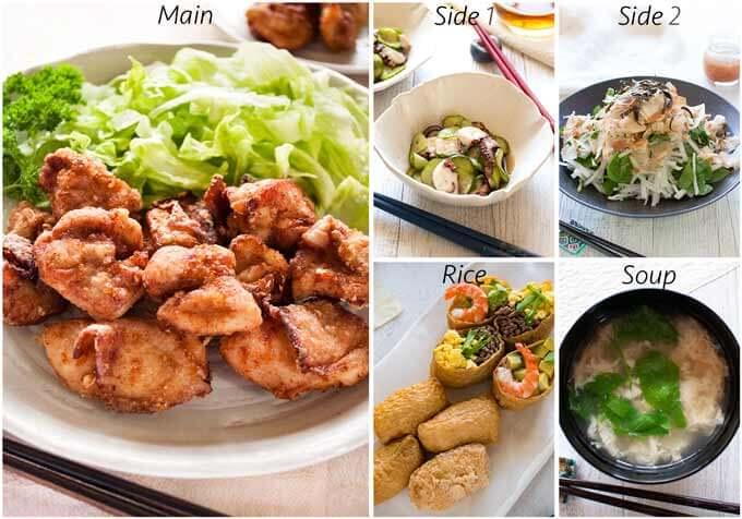 Dinner idea with Quick Inari Sushi.
