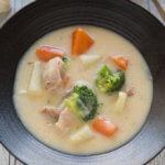 Hero shot of Japanese Chicken Cream stew.