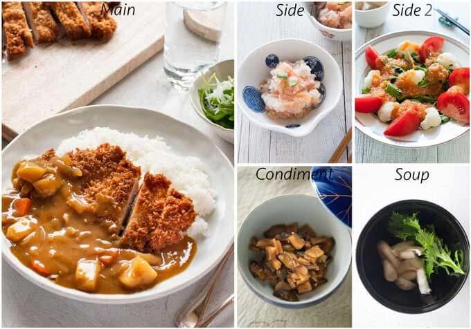 Dinner idea with Katsu Curry.