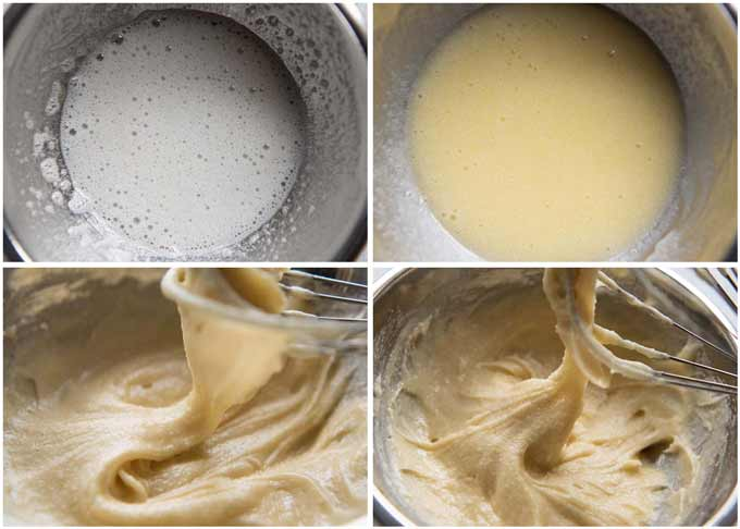 How to make batter for Cigarette Butter Cookies.