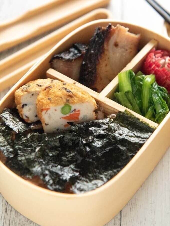 Hero shot of Nori Bento.