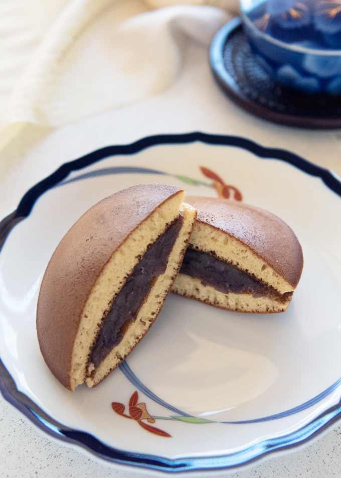 Dorayaki Sweet Red Bean Pancake Recipetin Japan